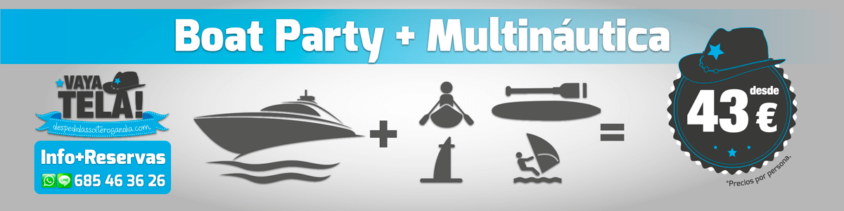 Boat Party + Multinaútica 43€