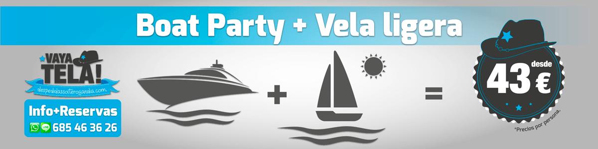 Boat Party + Vela Ligera 43€