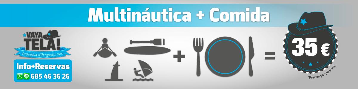 Multináutica + Comida