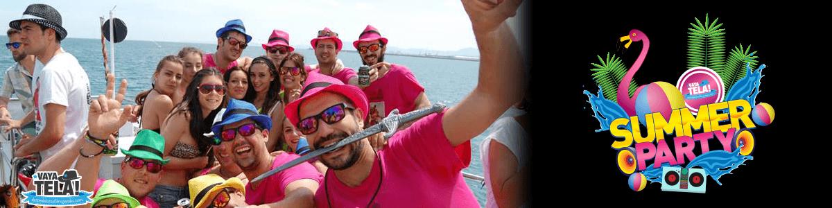 Fiesta catamarán en Gandia