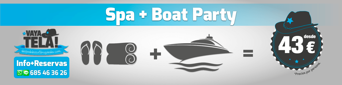 Spa + Boat Party