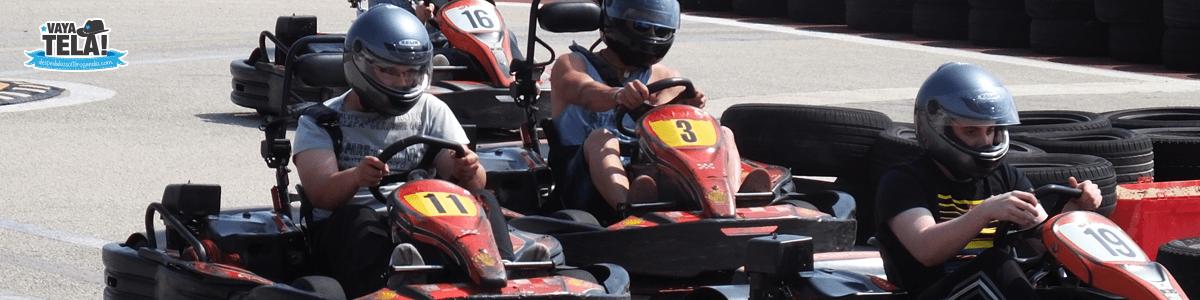 Karting para despedidas en Gandia