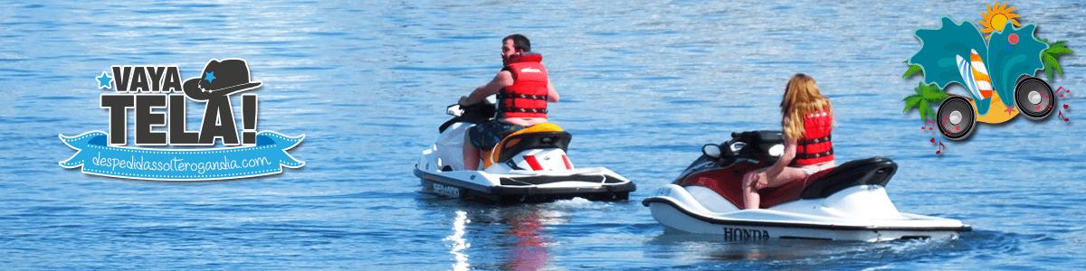 Motos acuáticas en Gandia