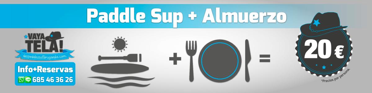 Paddle Sup + Almuerzo
