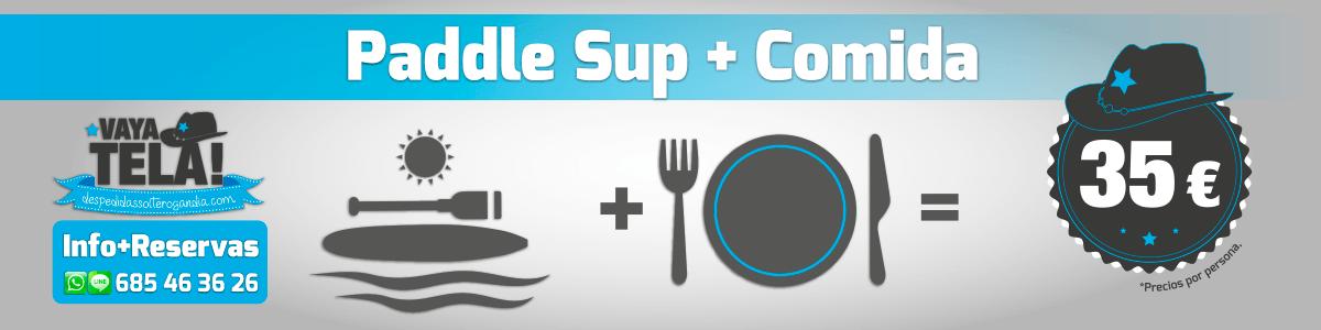 Paddle Sup + Comida