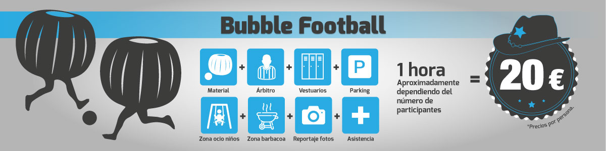 Bubble Football en Gandia