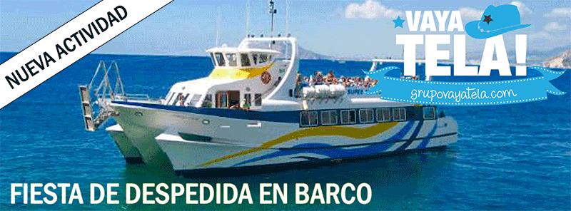Nueva Fiesta En Barco En Gandia