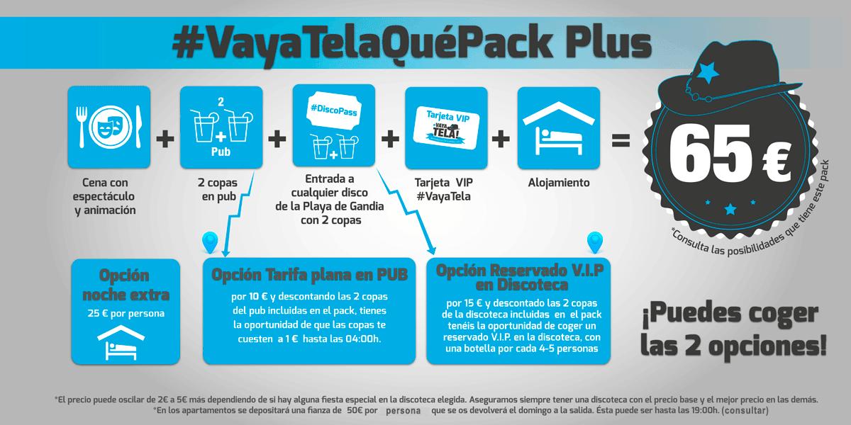 Pack Despedida Vaya Tela 1